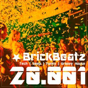 BrickBeatz - Podcast 20.001 [Tech | Deep | Funky | Groovy House]