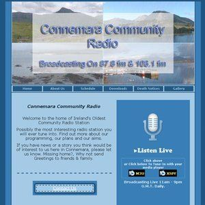 Connemara Community Radio - 'Blue Highways' Lol Hardiman - 8march2014