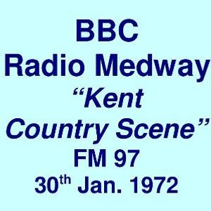 "BBC Radio Medway FM 97 =>> Country Music ""Kent Country Scene"" <<= Sun. 30th January 1972"