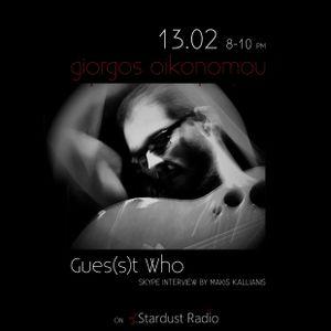 Gues(s)t Who #9 | Giorgos Oikonomou, Rock/Alternative Artist | 13/02/13