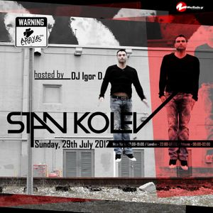 Above The Clouds with DJ Igor D. (episode 15) / Guest mix by Stan Kolev