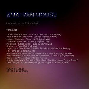 Zmai van House - Essential House Podcast 2011