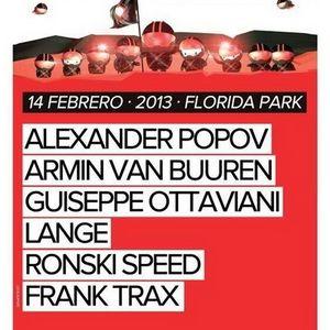 Armin van Buuren - Live @ A State of Trance 600 Madrid (ASOT studio) (14.02.2013)