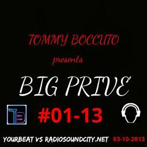 BIG PRIVE' #01-13 DJ SET TOMMY BOCCUTO