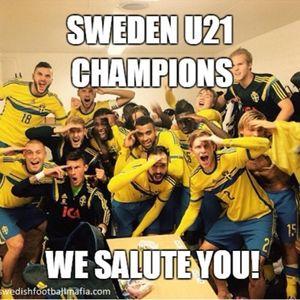 #53 - Sverige U21 Champions and RIP James