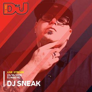 DJ Sneak from DJ Mag HQ 23/10/2015