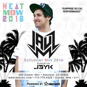 Excerpt from 6.28.16 Heat Ultra Lounge J3YK & JAUZ