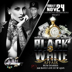 Cash Money Black and White Affair OLD SKOOL PROMO