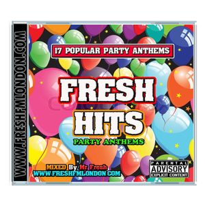 Fresh Fm Party Anthems Mix Cd.