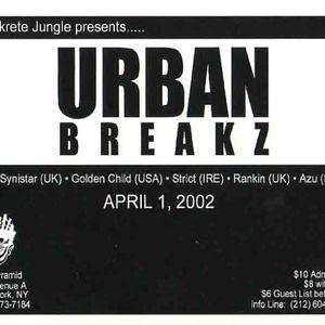Urban Breakz Live 2002 - Golden Child w/ MC Blaise, Bass Nacho, X-Man