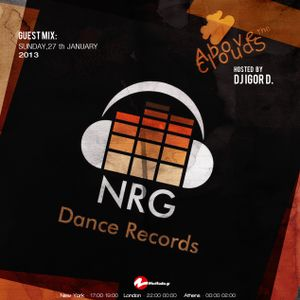 Above The Clouds with DJ Igor D. (episode 21) / Guest mix by NRG Dance Records
