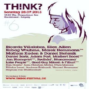 Ellen Allien @ TH!NK? Festival #6 - Cospudener See Leipzig - 28.07.2013