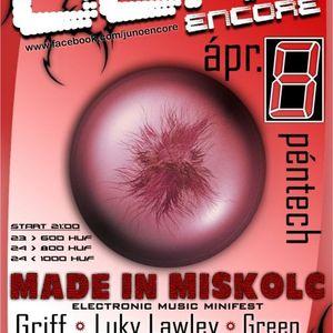 MadeInMiskolc LIVE @ Juno Encore, Miskolc 2011-04-08 PART3
