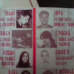 Dj Salva - 1996 - Sala Hollywood (Moron de la Frontera) - Hard House, Techno, acid Trace, Goa...