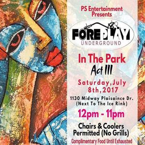 Greg Gray Live at ForePlay in the Park Act III