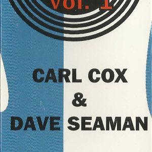 Mixmag Live Volume 1 - Carl Cox & Dave Seaman - Summer 1992