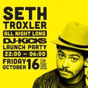 Seth Troxler live @ DJ Kicks Launch Party (ADE 2015) – 16.10.2015