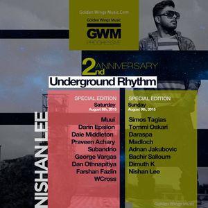 Adnan Jakubovic - Underground Rhythm 2nd Anniversary on GWM