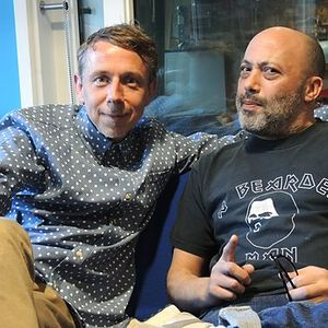 Gilles Peterson in conversation with Howie B on BBC 6 Music.  Broadcast on April 19th 2014.