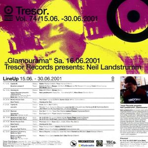 Neil Landstrumm @ Tresor Records presents: Glamourama! - Tresor Berlin - 16.06.2001