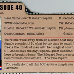 G.I. Joe Ep 40: Spell of the Siren w/ Rebekah Walendzak