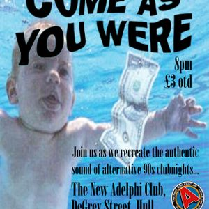 Come As You Were DJ set Saturday 6th August 2016 at The New Adelphi, Hull (Part 1)