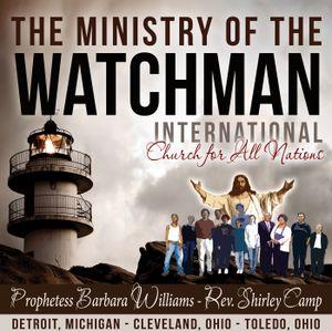 Watchman Revelations: Unholy Trinity #1