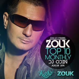 August 2014, Brazilian Zouk Top 10, DJ Odin Le Noble.