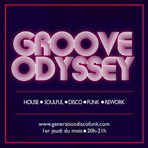Groove Odyssey Radio Show performed by The Soulfingers - 04.04.19