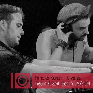 Hinz&Kunzt - Live @ Raum & Zeit / Berlin / Mai 2014