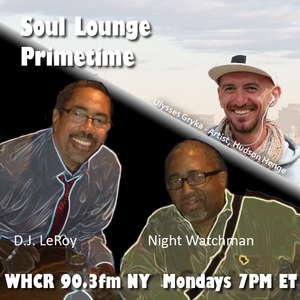 Soul Lounge Primetime 09-18-2017 (WHCR 90.3FM NY): Interview with Artist Ulysses Gryka