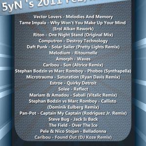 5yN - 2011 Feb-March Mix