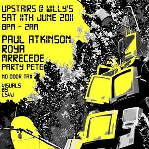 MrRecede Live @ Sonic Progression 11.06.11
