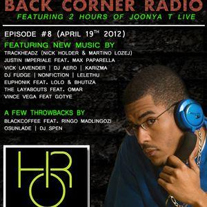 BACK CORNER RADIO: Episode #8 (April 19th 2012)