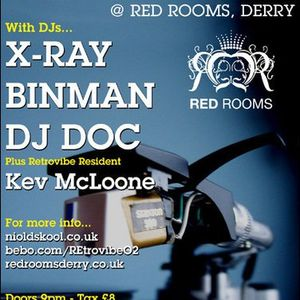 X-ray Live @ The Red Rooms 2008 (Oldskool House)