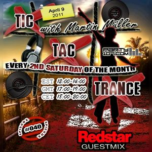 Tic Tac Trance #040 with Martin Mueller and guest Redstar