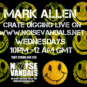 Crate Digger radio 107 on www.noisevandals.net