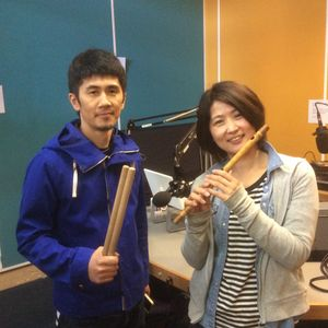 17th June 2015, Japanese duo Tomoro live in the studio