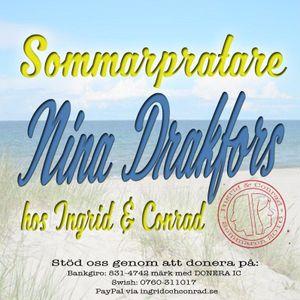 Sommarpratare #4 - Nina Drakfors