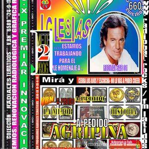660 PROGRAMA RADIAL TEMATICO CUMPLE-HOM GRABADO JULIO IGLESIAS Y AGRIPINA DE VECINOS BUENAS NOTICIAS