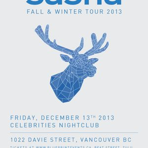 Sasha @ Celebrities, Vancouver [Fall & Winter Tour] - 13th December 2013