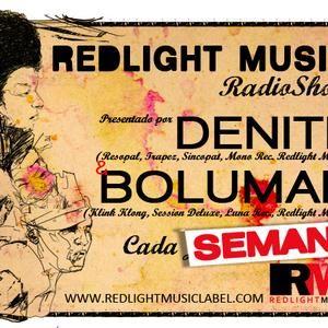 Redlight Music Radioshow 028 // By bolumar (Spanish)