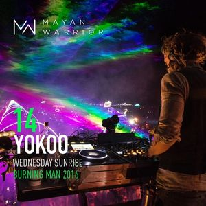 YokoO - Mayan Warrior - Wednesday Sunrise - Burning Man 2016
