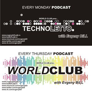 Evgeny BiLL - Techno Letto Podcast 025 (06-08-2012)
