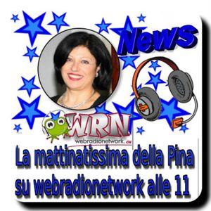 MATTINATISSIMA WEBRADIONETWORK  CON LA PINA 16 NOVEMBRE  2016