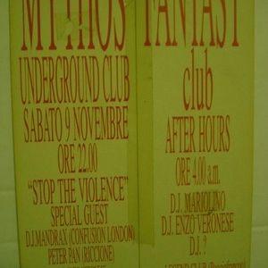 mariolino mythos confusion london 1991
