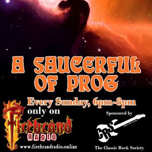 A SAUCERFUL OF PROG with Steve Pilkington (Broadcast 13 May 2018)