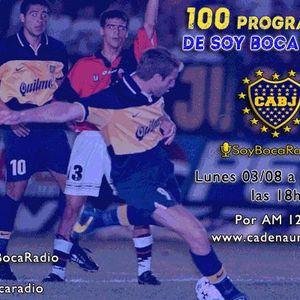 Programa Nº 100 de SoyBocaRadio-Especial-