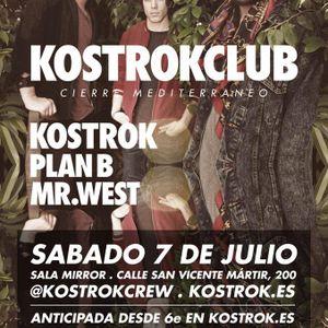Mr West Live Opening set @ KOSTROKCLUB 7/7/2012 - part 1