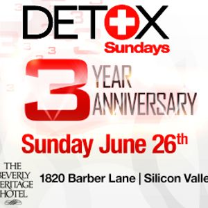 DETOX Sundays 3 Year Anniversary mix by MikeSlim